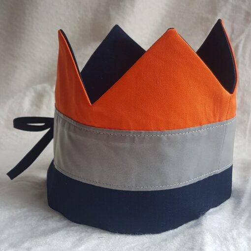 Fabric Crown with reflective band