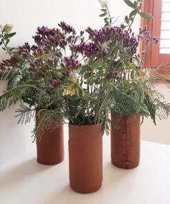Leather Vase Wrap
